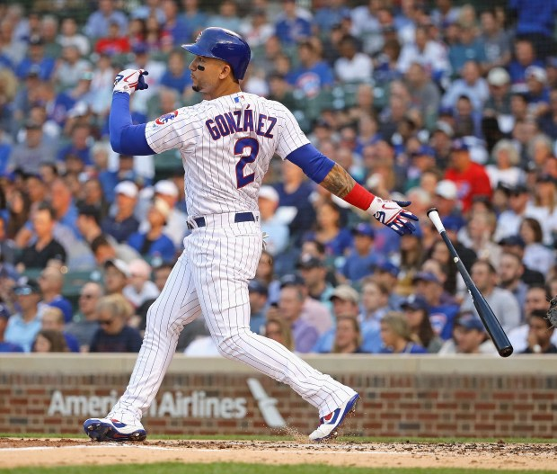 Carlos Gonzalez #2 of the Chicago ...