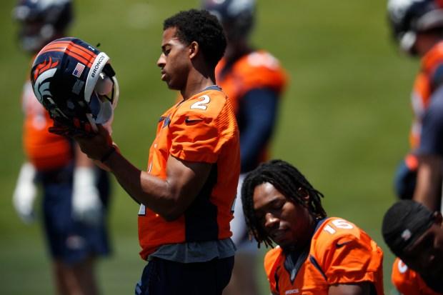 Denver Broncos wide receiver Trinity Benson ...