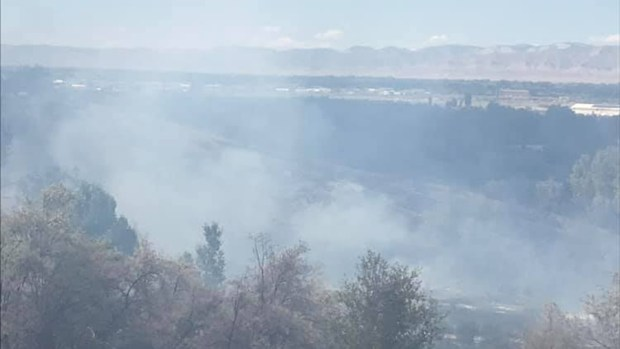 Kids playing with fireworks ignited wildfire that threatened numerous homes near Grand Junction