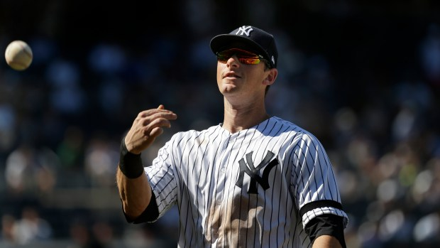 New York Yankees' DJ LeMahieu during ...