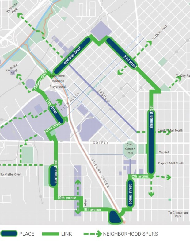 5280 Trail map