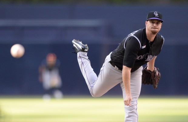Colorado Rockies starting pitcher Chi Chi ...