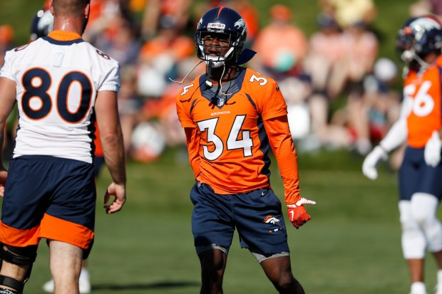 Denver Broncos strong safety Will Parks ...