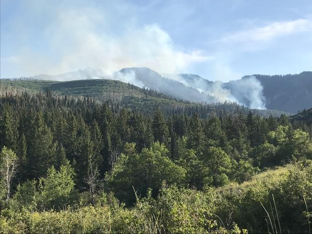 Public meeting to be held for slowly growing Middle Mamm Fire south of Rifle