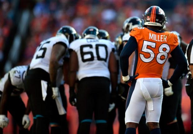 Denver Broncos outside linebacker Von Miller ...