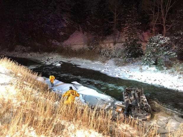 One dead after single-vehicle crash in Clear Creek Canyon