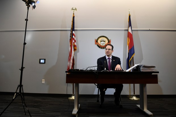 Colorado Attorney General Phil Weiser outlines ...