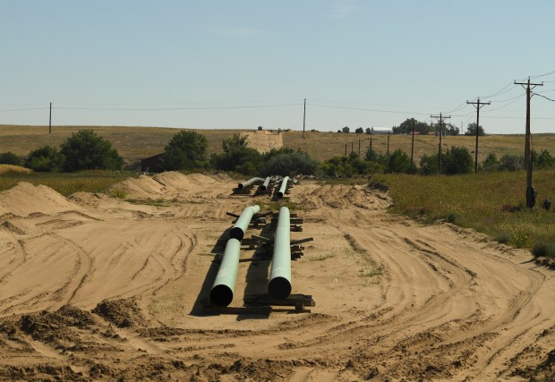 A pipeline for oil and gas ...