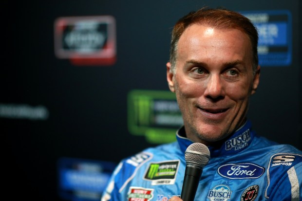 Kevin Harvick, driver of the #4 ...