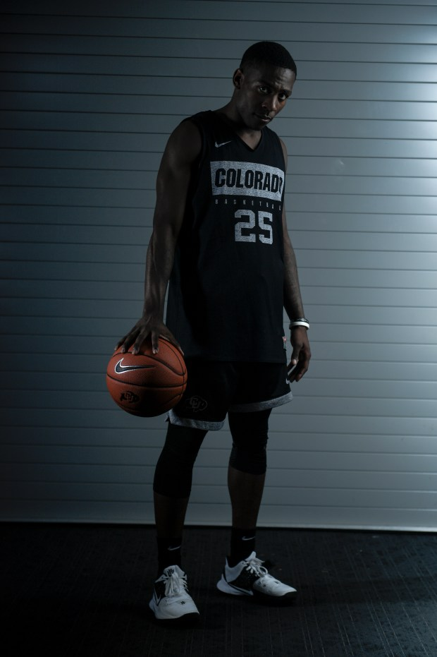 CU Buffaloes basketball player McKinley Wright ...