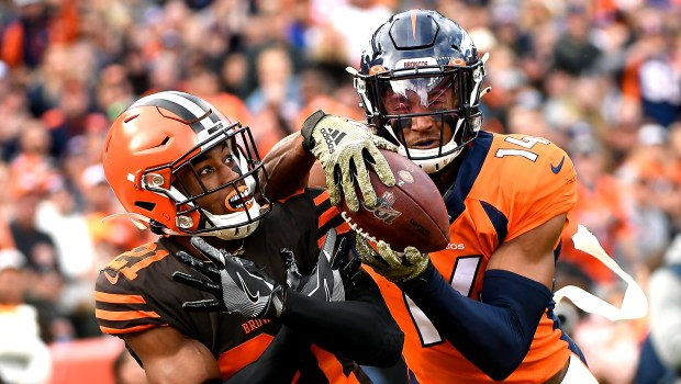 Denver Broncos wide receiver Courtland Sutton ...