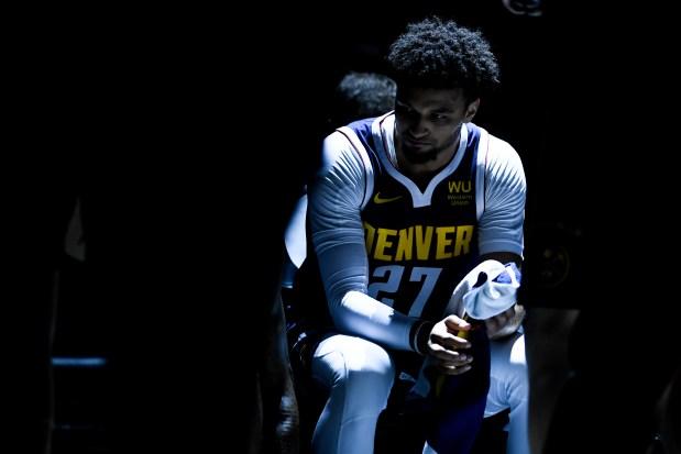 Jamal Murray (27) of the Denver ...