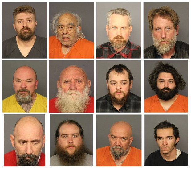 13 charged in connection to Denver motorcycle gang raids, organized crime – including 81-year-old