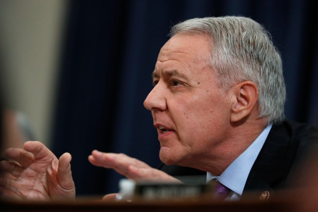Rep. Ken Buck, R-Colo., talks during ...