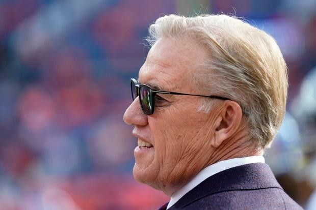 Denver Broncos general manager John Elway ...