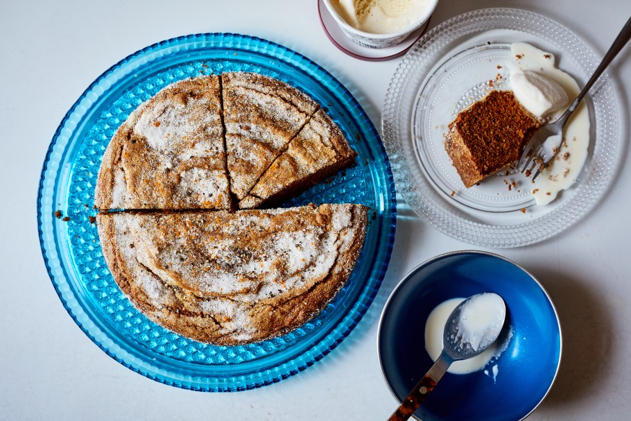 Alison Roman's golden ginger cake, with ...