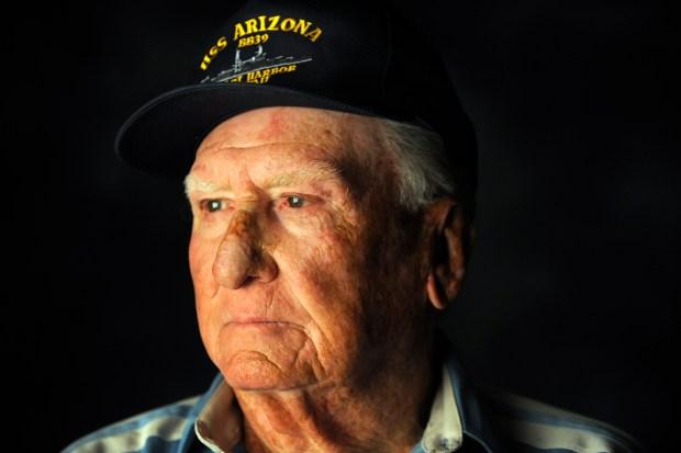 Pearl Harbor survivor Donald G. Stratton, ...