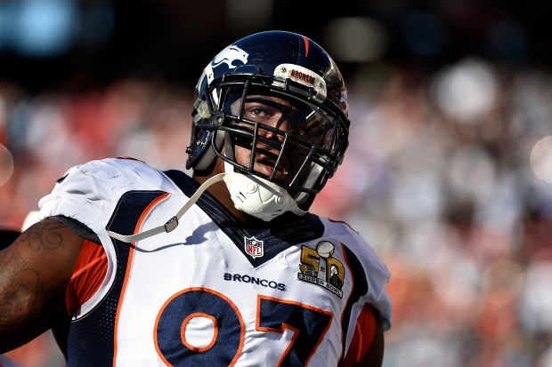 Denver Broncos defensive tackle Malik Jackson ...