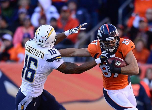 Denver Broncos wide receiver Eric Decker ...