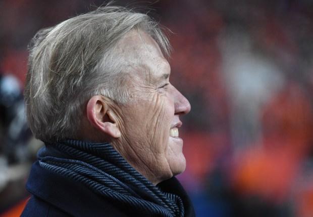Pres. of Football Ops./GM John Elway ...