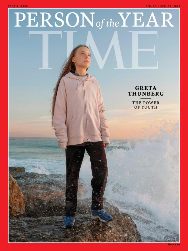 This photo provided by Time magazine ...