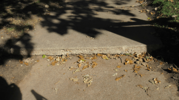 Sidewalk on Pennsylvania Street