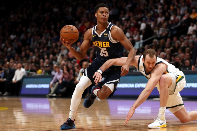 """Nuggets' PJ Dozier making name for himself: """"My South Carolina army knife"""""""