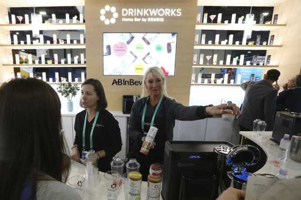 CES 2020: Say no to junk food; machines make cocktails
