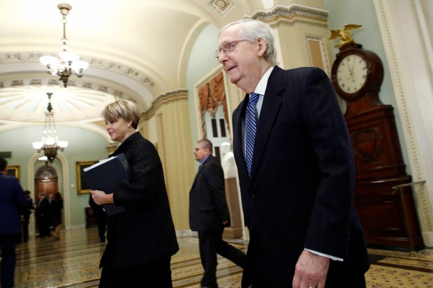 Senate Majority Leader Mitch McConnell, R-Ky., ...