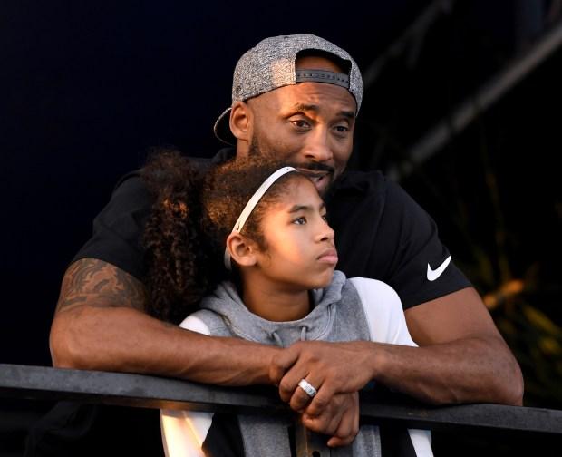 Kobe Bryant and daughter Gianna Bryant ...