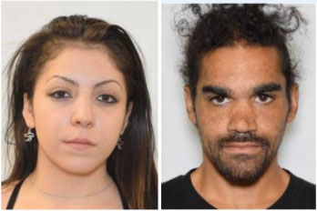 Roxanne Rodriguez-Hernandez (left) and Tyler Demittri Wright (right) are sought in connection to a Feb. 19, 2020 fatal shooting at a DTC apartment complex.