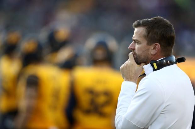 Head coach Justin Wilcox of the ...
