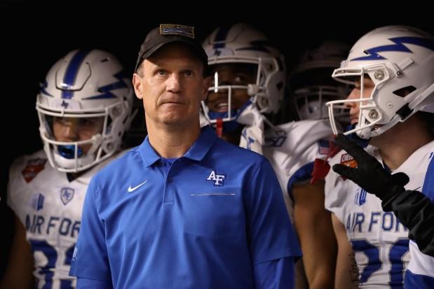 Head coach Troy Calhoun of the ...