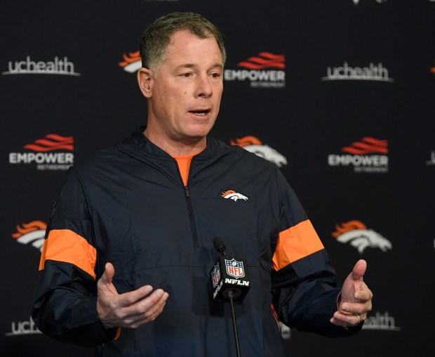 Former Denver Broncos safety, Steve Atwater, ...