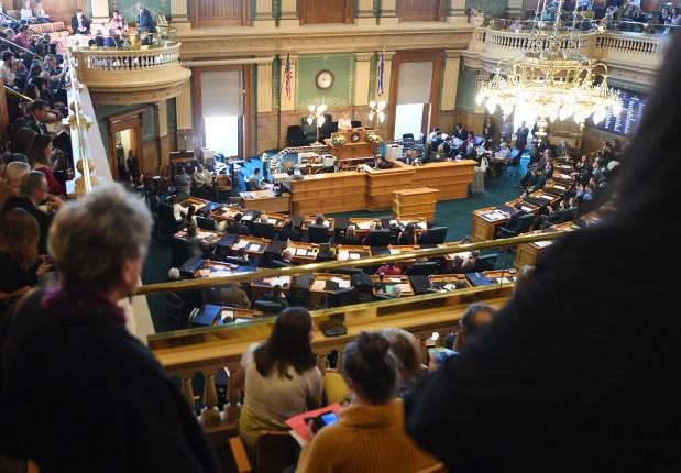 Speaker of the House KC Becker ...