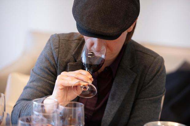 A wine tasting of Rosso di ...