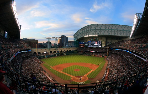 A general view of Minute Maid ...