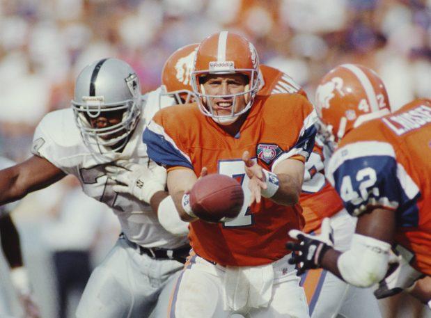 John Elway #7, Quarterback for the ...