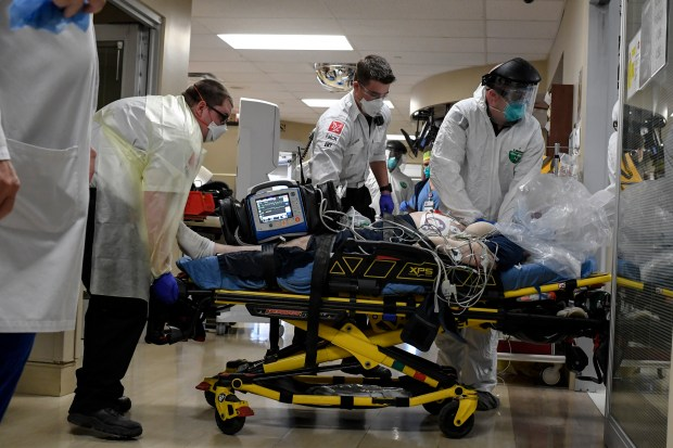 Falck paramedics and Aurora firefighters from ...