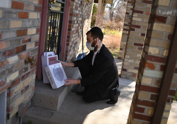 Rabbi Mendel Sirota, of WCRJ Synagogue, ...