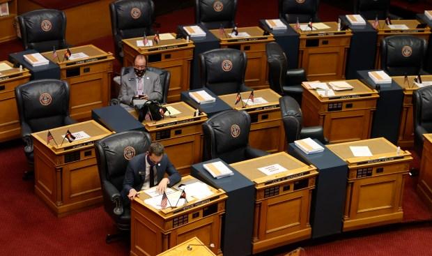 Colorado State Senator Steve Fenberg, D-Boulder, ...
