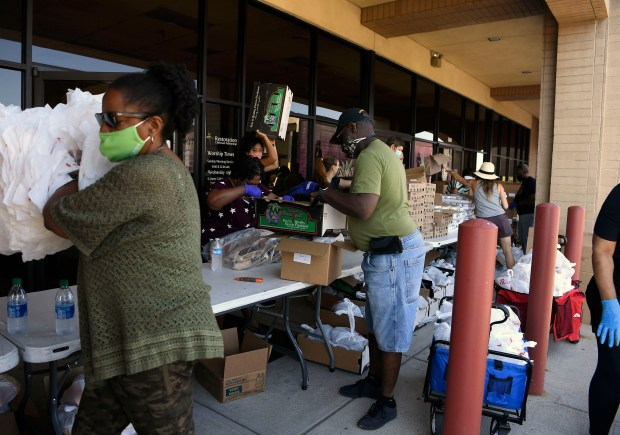 """1 in 3 are struggling to eat in Colorado: """"It would be impossible without the food banks"""""""