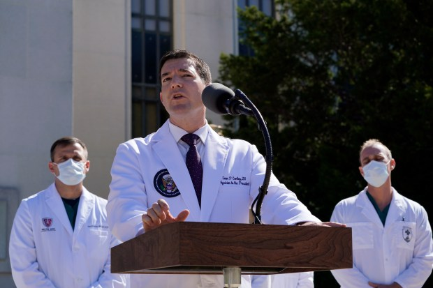 Dr. Sean Conley, physician to President ...