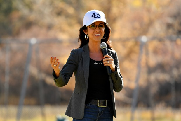 Lauren Boebert, Republican nominee for Colorado's ...