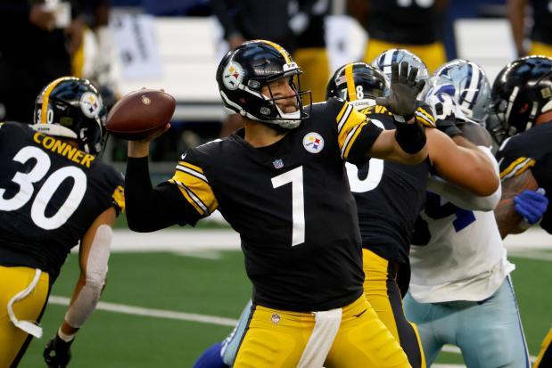 Pittsburgh Steelers quarterback Ben Roethlisberger (7) ...