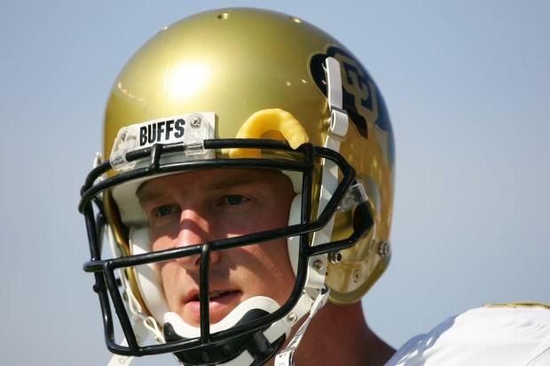 Quarterback Joel Klatt #14 of the ...