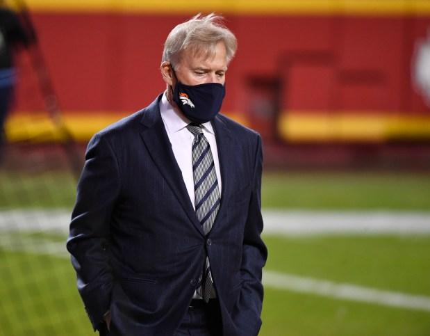 John Elway, Denver Broncos president of ...
