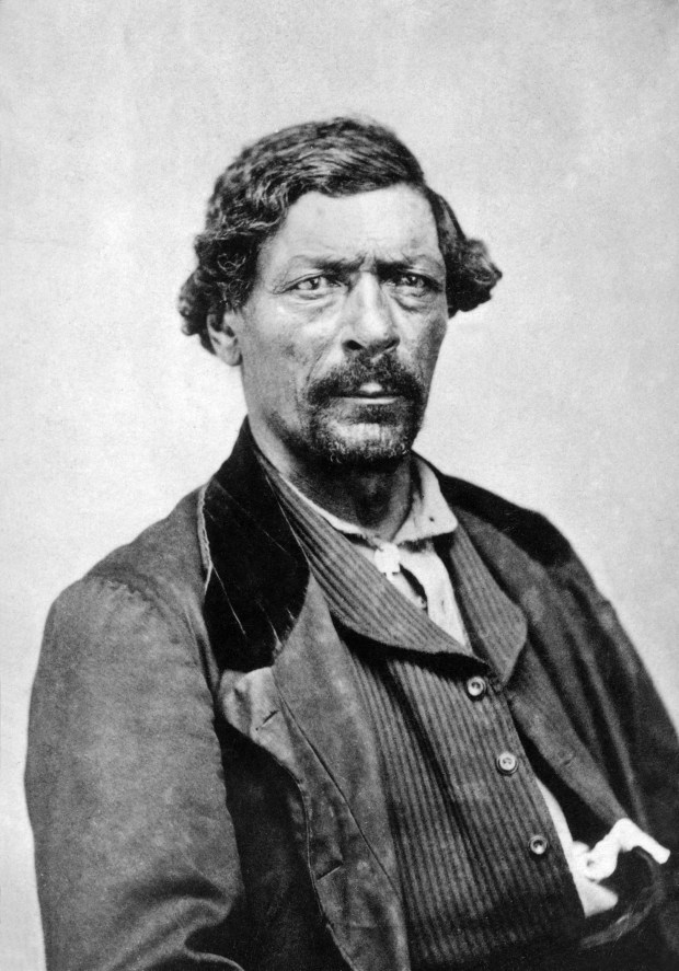 James Pierson Beckwourth (1798-1866) was an emancipated slave, an independent fur trader, mountaineer, adventurer, and a founder of El Pueblo.