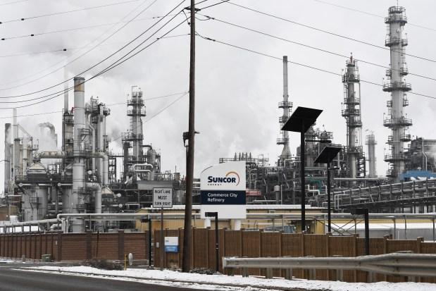 Suncor Refinery Feb. 10, 2021. ...
