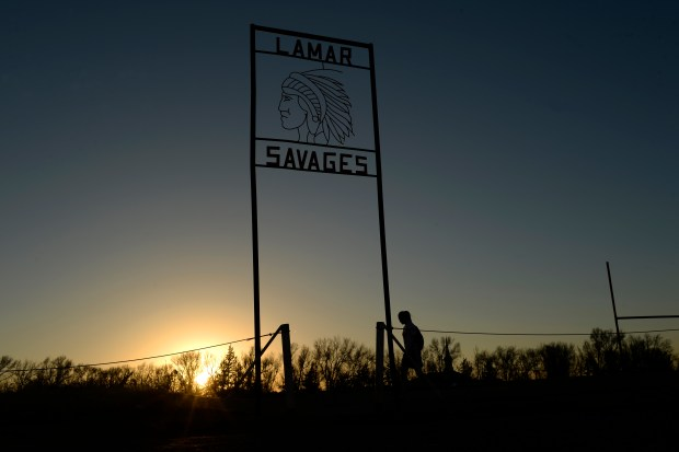 lamar savages rjs 01 - Colorado schools have 11 months to remove American Indian mascots — and that can be very expensive